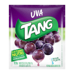 Refresco em Pó Tang 25gr Uva