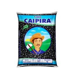 Feijão Caipira Preto 1kg
