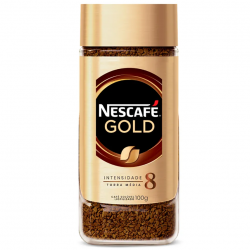 Café Solúvel Nescafé Gold Vidro 100gr Bl