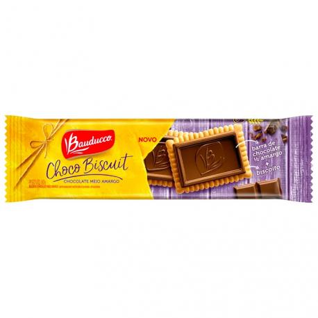 Biscoito Choco Biscuit Bauducco 80gr Mei