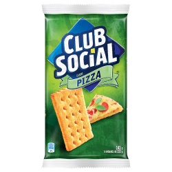 Biscoito Club Social 141gr Pizza