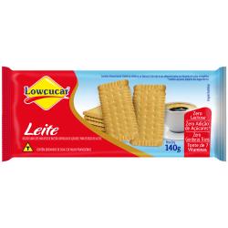 Biscoito Lowçucar 140gr Leite