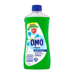 Limpa Pisos Omo Ação Total 900ml Frescor