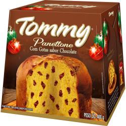 Panettone Tommy 400gr com Gotas Chocolat