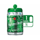 Chopp Heineken Barril 5lts
