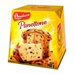 Panettone Bauducco 80gr Frutas Cristaliz