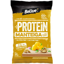 Snacks Protein Belive Zero 35gr Menteiga