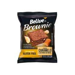 Brownie Belive Zero 40gr Caramelo Castan