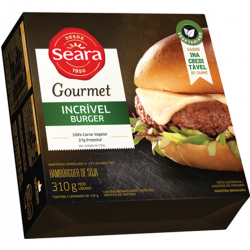 Hamburguer Soja Seara Gourmet 310gr Incr