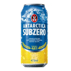 Cerveja La 473ml Antarctica Sub Zero
