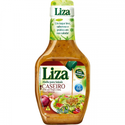 Molho Salada Liza 234ml Caseiro