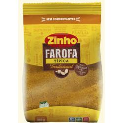 Farofa Zinho 350gr Tradicional