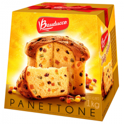 Panettone Bauducco 1kg Frutas Cristaliza