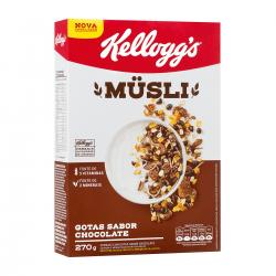 Cereal Kellness Musli 270 Gr Chocolate