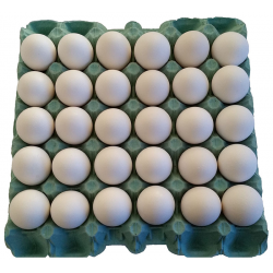 Ovos Brancos PVC 30un Granbiagi