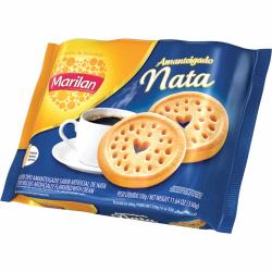 Biscoito Amanteigado Marilan 330gr Nata