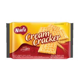 Biscoito Ninfa 370gr Cream Cracker
