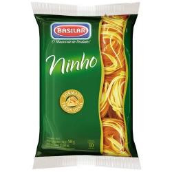 Macarrão Semolado Basilar 500gr Ninho 2