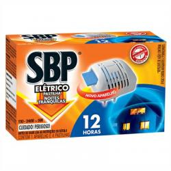 Repelente SBP Aparelho 12horas +4 Pastil