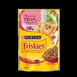 Alimento para Gatos Friskies 85gr Frango