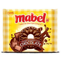 Biscoito Amenteigado Mabel 330gr Chocola