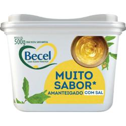 Creme Vegetal Becel 500gr Manteiga Com S