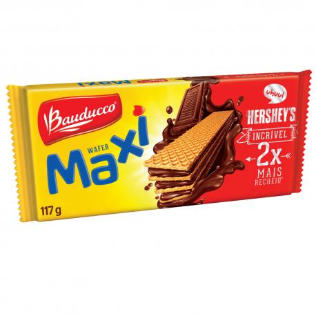 Biscoito Wafer Bauducco 117gr Maxi Choco