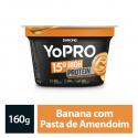 Iogurte Polpa Danone Yopro 160Gr Banana/pasta De Amendoim