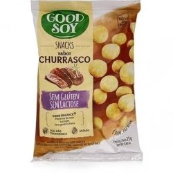 Snacks Goodsoy Soja 25gr Churrasco