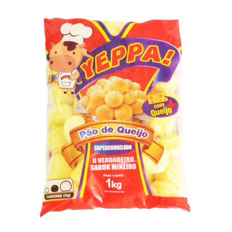 Pão de Queijo Yeppa 1kg