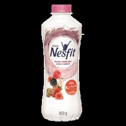 Iogurte Nesfit 850gr Frutas Vermelhas e