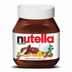 Creme Avelã Nutella Ferrero 650gr
