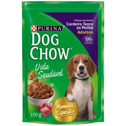 Alimento Cães Dog Chow 100gr Adulto Todo