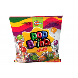 Pirulito Fort Pop Toffano 50un 300gr