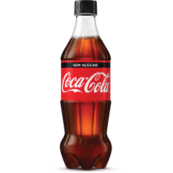 Refrigerante Coca Cola Zero Pet 600ml