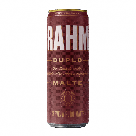 Cerveja Brahma Duplo Malte Lata 350ml