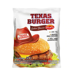Hamburguer Texas Burger 75gr Bacon