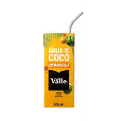 Água De Coco Del Valle 200ml Maracujá