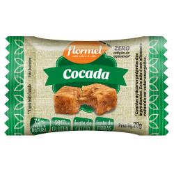 Doce Flormel Zero 20gr Cocada