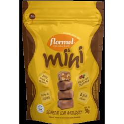 Mini Bombom Flormel Zero 60gr Amendoim