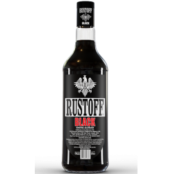 Vodka Rustoff Black 970ml