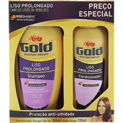 Kit Niely Gold Shampoo 300ml + Condic 20
