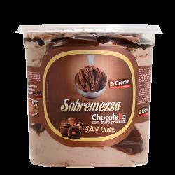Sorvete Sobremezza Sr.Creme 1,8lt Chocot