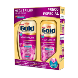 Kit Niely Gold Shampoo300ml + Cond200ml