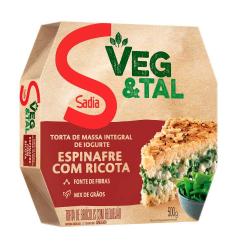 Torta Integral Veg&tal Sadia 500gr Ricot