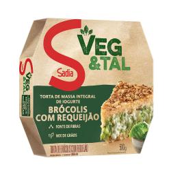 Torta Integral Veg&tal Sadia 500Gr Brócolis/requeijão