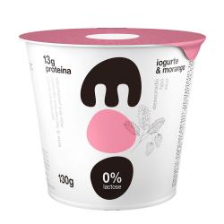 Iogurte Skyr 0%Lact Moo 130gr Morango