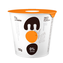 Iogurte Skyr 0%Lactose Moo 130gr Laranja