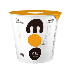 Iogurte Skyr 0%lact Moo 130gr Mel