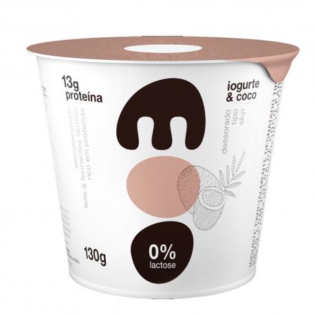 Iogurte Skyr 0%Lact Moo 130gr Coco
